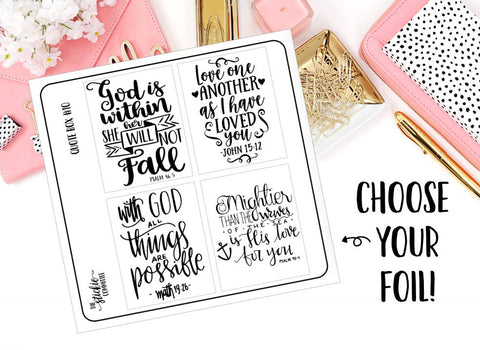 FOILED - Quote Box #10 Overlay - thestickiecommittee