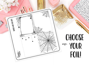 FOILED - Spider Web Full Box - thestickiecommittee