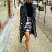 Tailored tweed Trench Coat - Coco & Mumu Co.