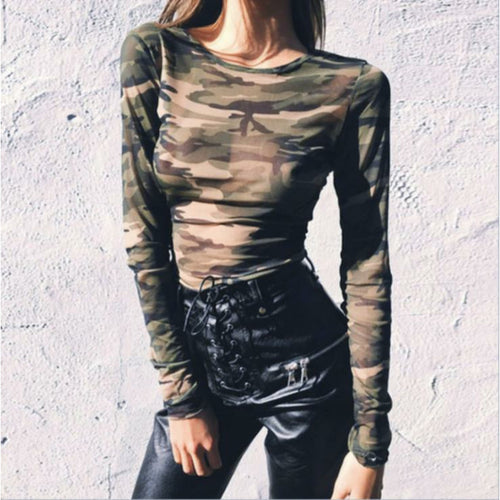 CAMO Long Sleeve - Coco & Mumu Co.