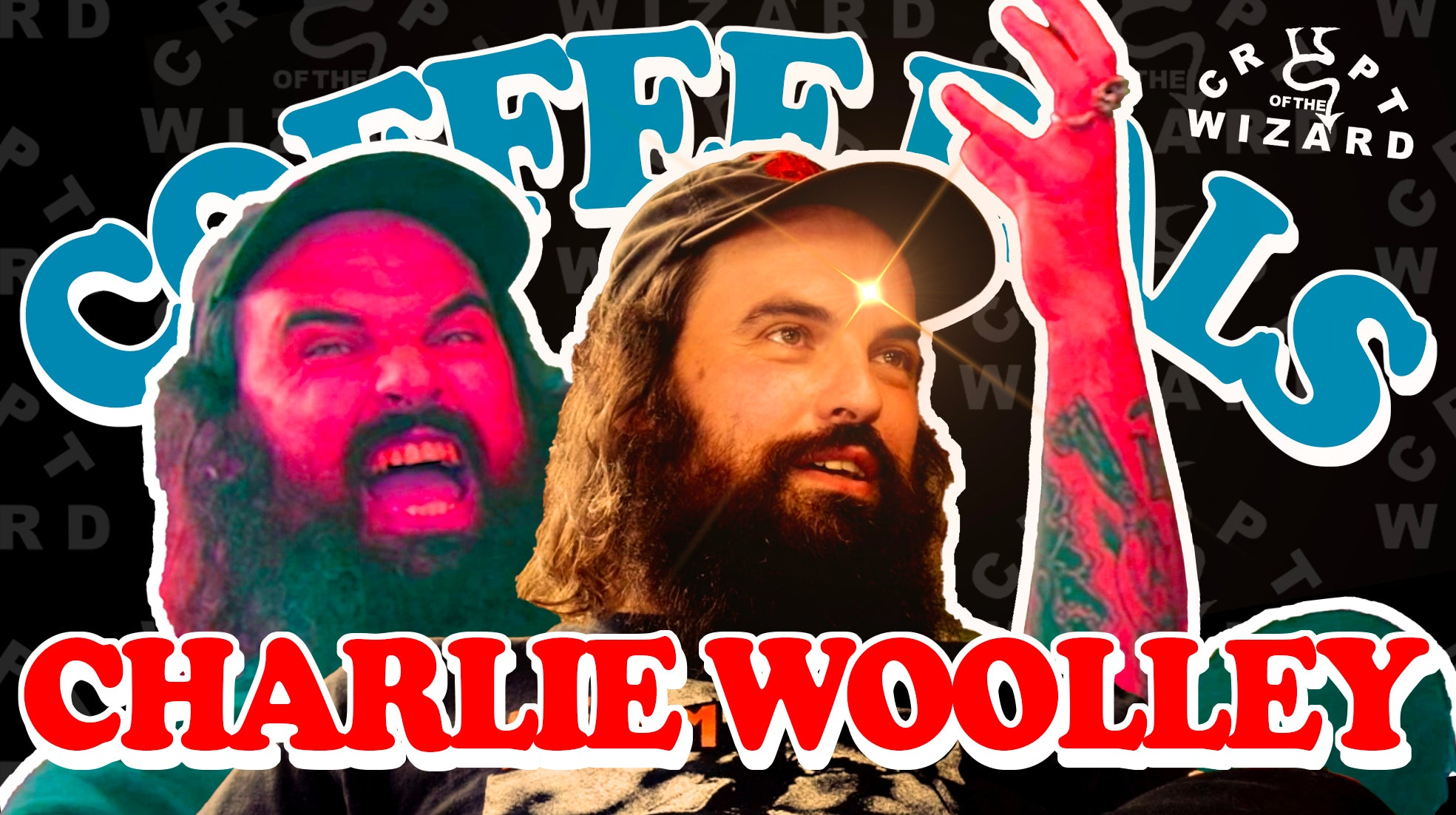COFFEE PALS - Charlie Woolley of Crypt of the Wizard