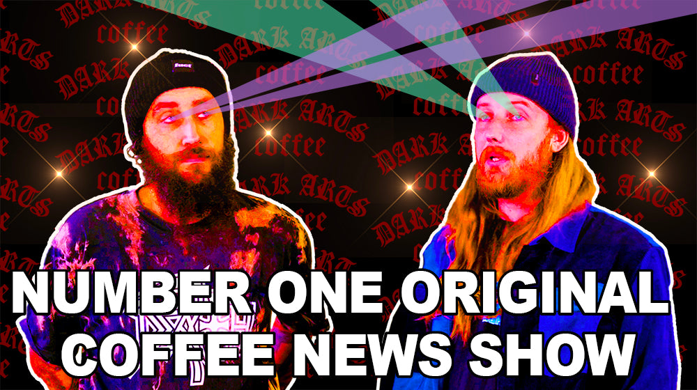 NUMBER ONE REALLY GOOD CELEBRITY COFFEE NEWS SHOW