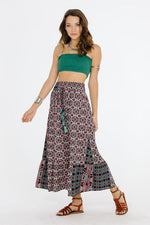 Electric Nights Maxi Skirt, Clothes, Skirts & Midi - Fizici.com | Women's Fashion & Clothing, Footwear & Accessories 2018