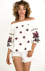 TESSI OFF SHOULDER TOP