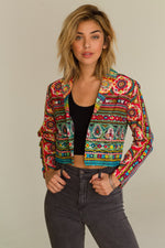 Psychedelic Blazer, Clothes, Outerwear - Fizici.com | Women's Fashion & Clothing, Footwear & Accessories 2018