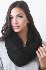 Interwoven Crochet Infinity Scarf, Accessories, Scarves - Fizici.com | Women's Fashion & Clothing, Footwear & Accessories 2018