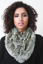 Frosted Fur Neck Warmer, Accessories, Scarves - Fizici.com | Women's Fashion & Clothing, Footwear & Accessories 2018
