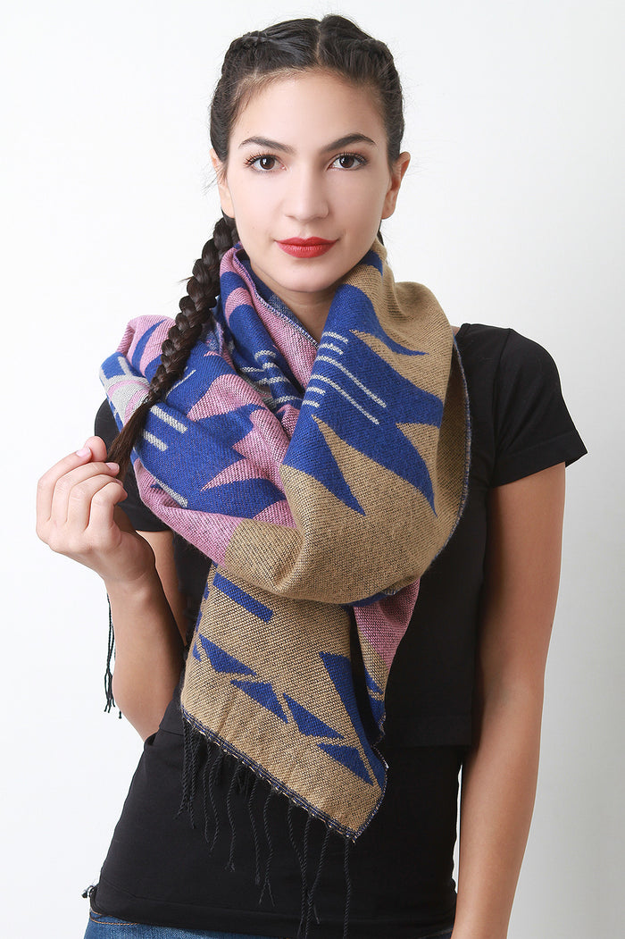 Ganado Pattern Scarf, Accessories, Scarves - Fizici.com | Women's Fashion & Clothing, Footwear & Accessories 2018