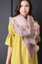 Color Blocked Parallelogram Scarf, Accessories, Scarves - Fizici.com | Women's Fashion & Clothing, Footwear & Accessories 2018