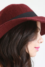 Wool Floppy Fall Hat