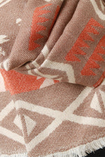 Tribal Knit Scarf, Accessories, Scarves - Fizici.com | Women's Fashion & Clothing, Footwear & Accessories 2018