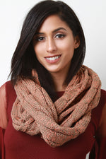 Cable Knit Infinity Scarf, Accessories, Scarves - Fizici.com | Women's Fashion & Clothing, Footwear & Accessories 2018