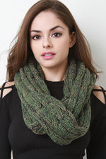 Multi Tone Cable Knit Infinity Scarf, Accessories, Scarves - Fizici.com | Women's Fashion & Clothing, Footwear & Accessories 2018
