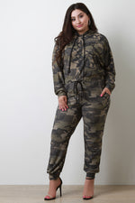 Camouflage High Rise Jogger Pants, Plus Sizes, Bottoms + - Fizici.com | Women's Fashion & Clothing, Footwear & Accessories 2018
