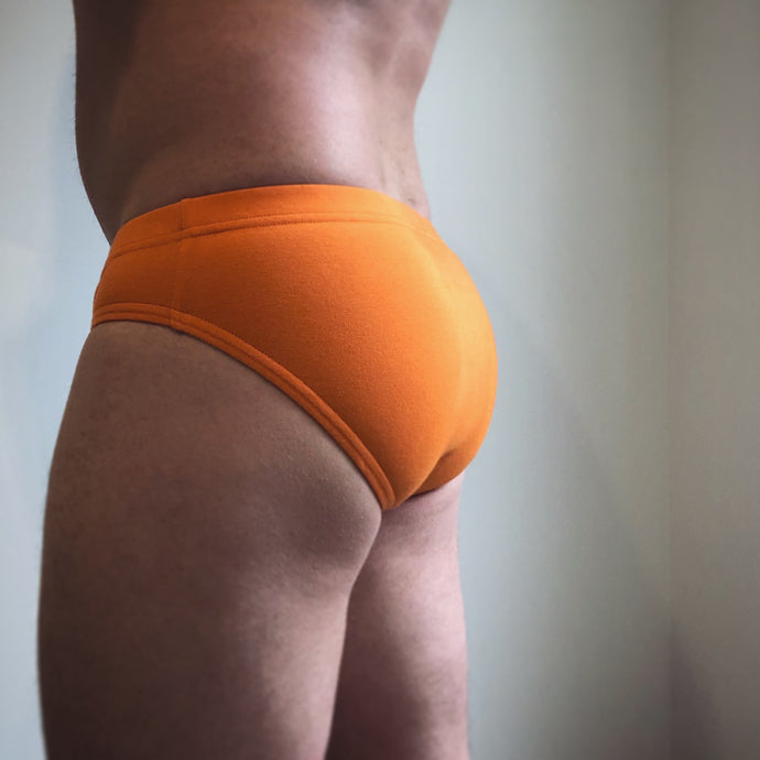 Bristle Brief - Orange