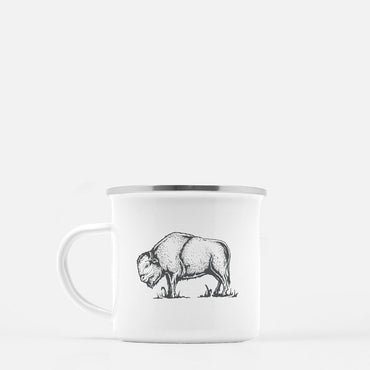 Bison 10 oz. camp mug