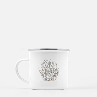 Tumble Weed 10 oz. camp mug