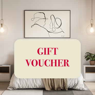 Custom Line Drawing - Gift Voucher