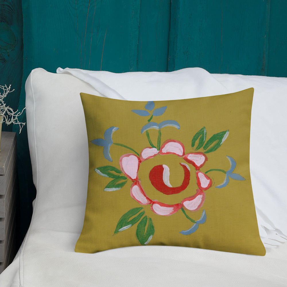 Mable flower Premium Pillow