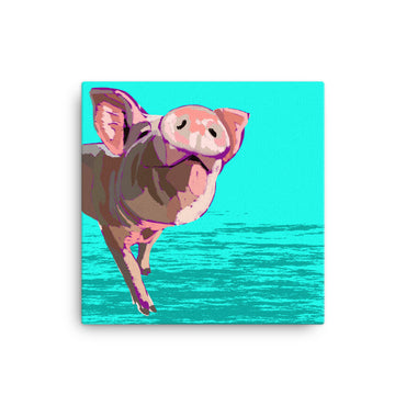 Pig- Print on Canvas