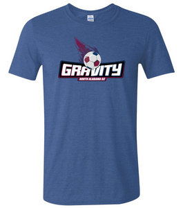 North Alabama SC Gravity Logo T-Shirt - Navy
