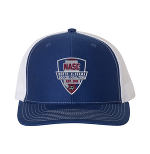 North Alabama SC Trucker Hat - Royal, & White
