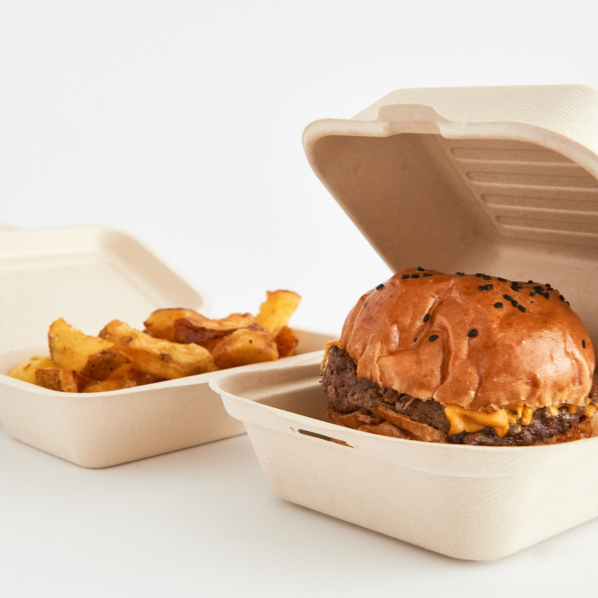 Descartables Ecologics - Box Hamburguesa 450ML