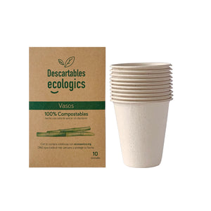 Descartables Ecologics- Vasos 7oz