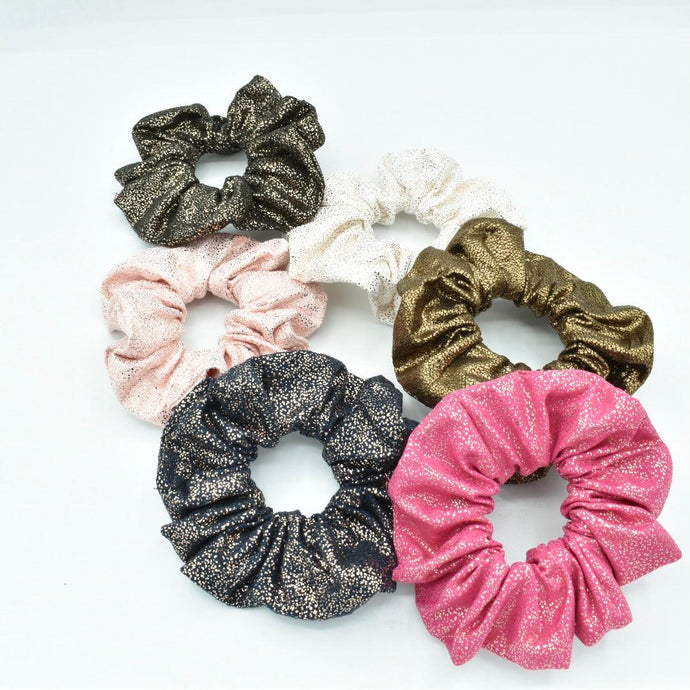 Sparkle Scrunchies- 6 Pack