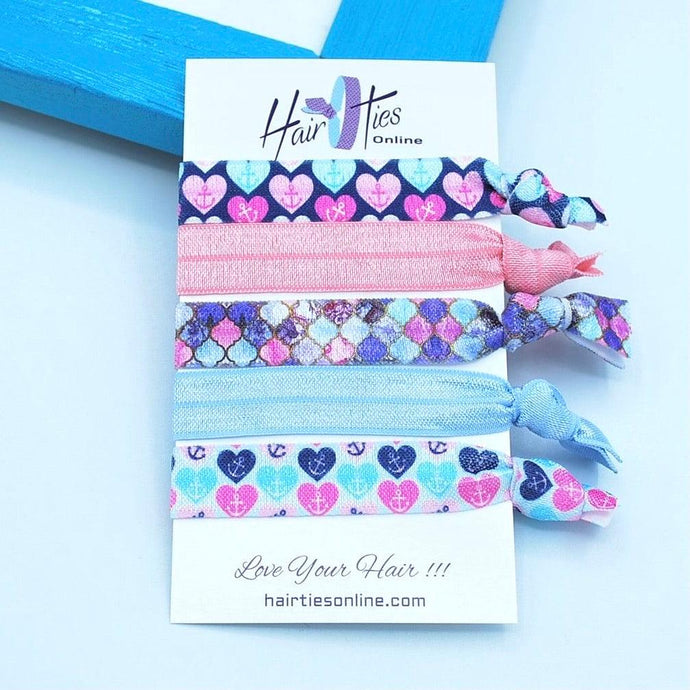 Love Affairs Bow Knotted Hair Ties - 5 Pack