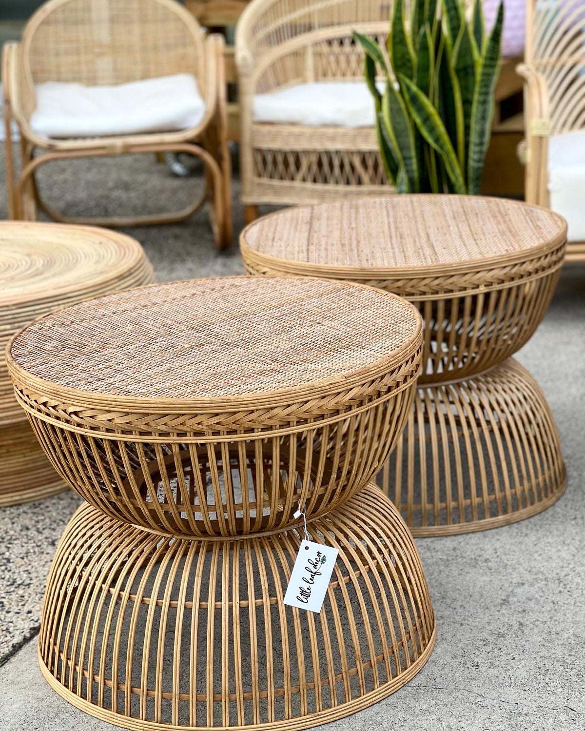 Kalama Rattan Coffee Table (Pick up/Delivery)
