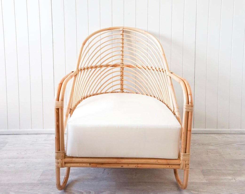 Julie Rattan Chair (Pick up/delivery)