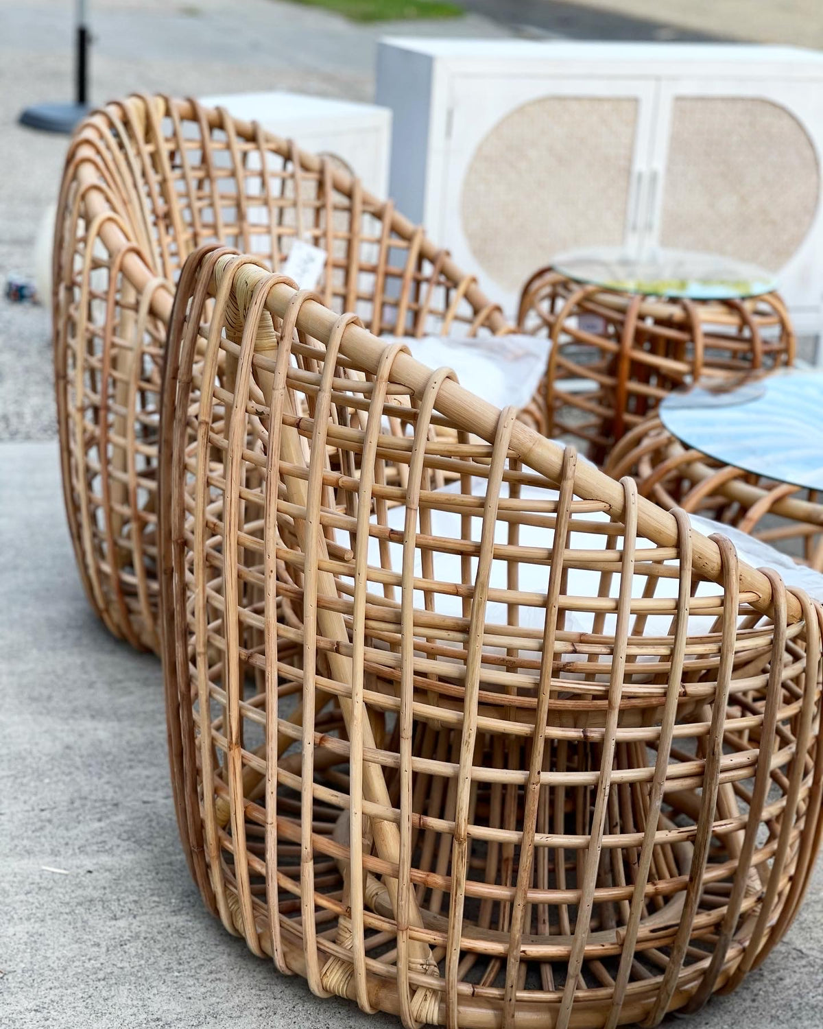 Moji Rattan Chair (Pick up&Delivery)