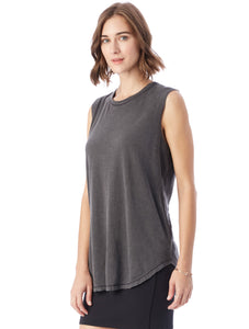 Drop Inside-Out Sleeveless Tee