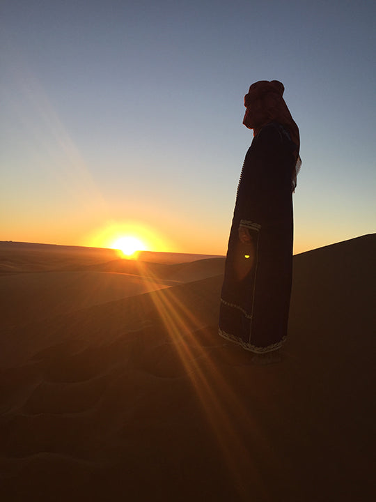 Izaskun Zabala fine costume jewelry blog about inspiration travel trip to the Sahara desert Morocco