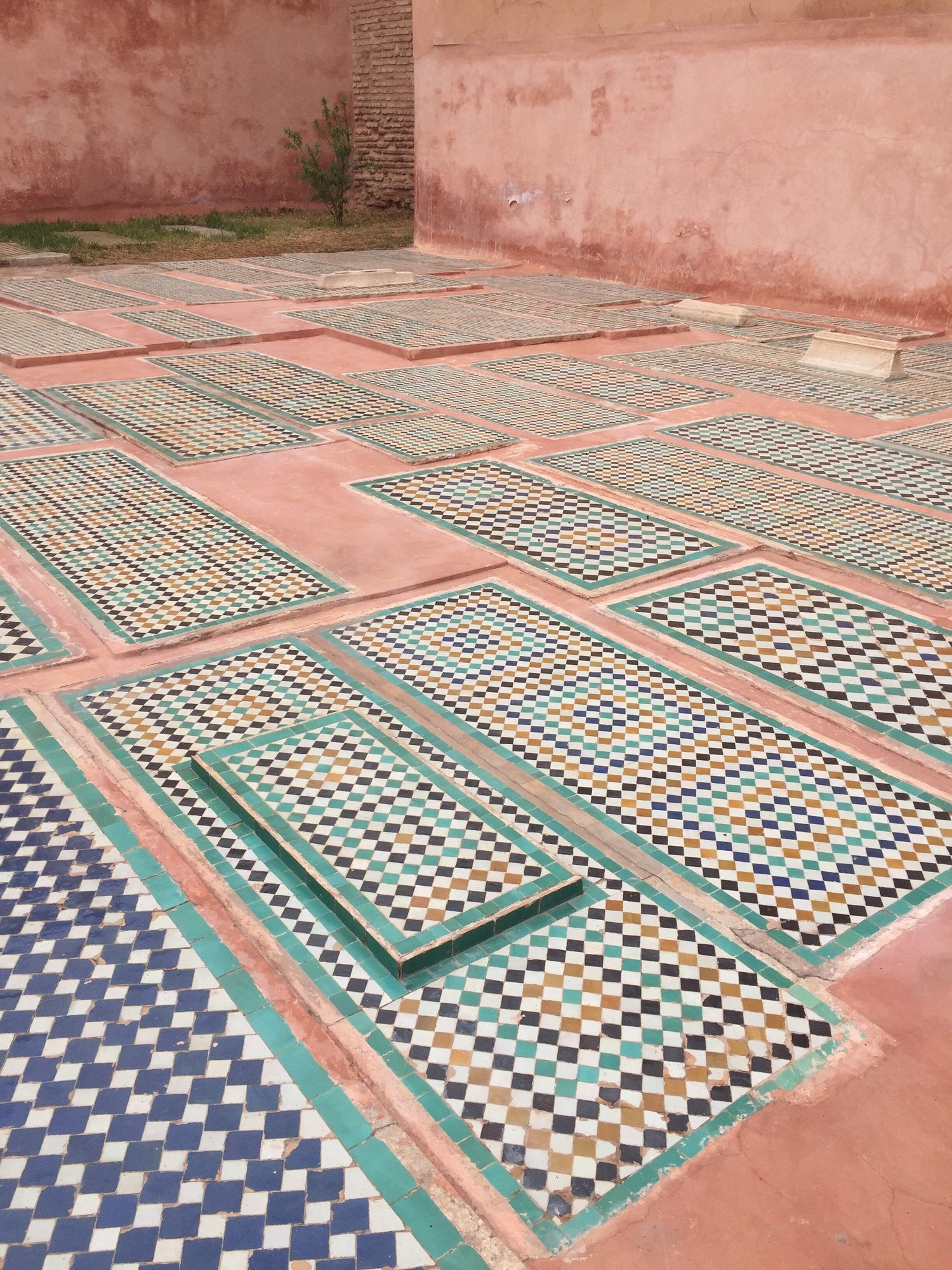 Izaskun Zabala fine costume jewelry blog about inspiration travel trip to Saadian Tombs in Marrakech Morocco