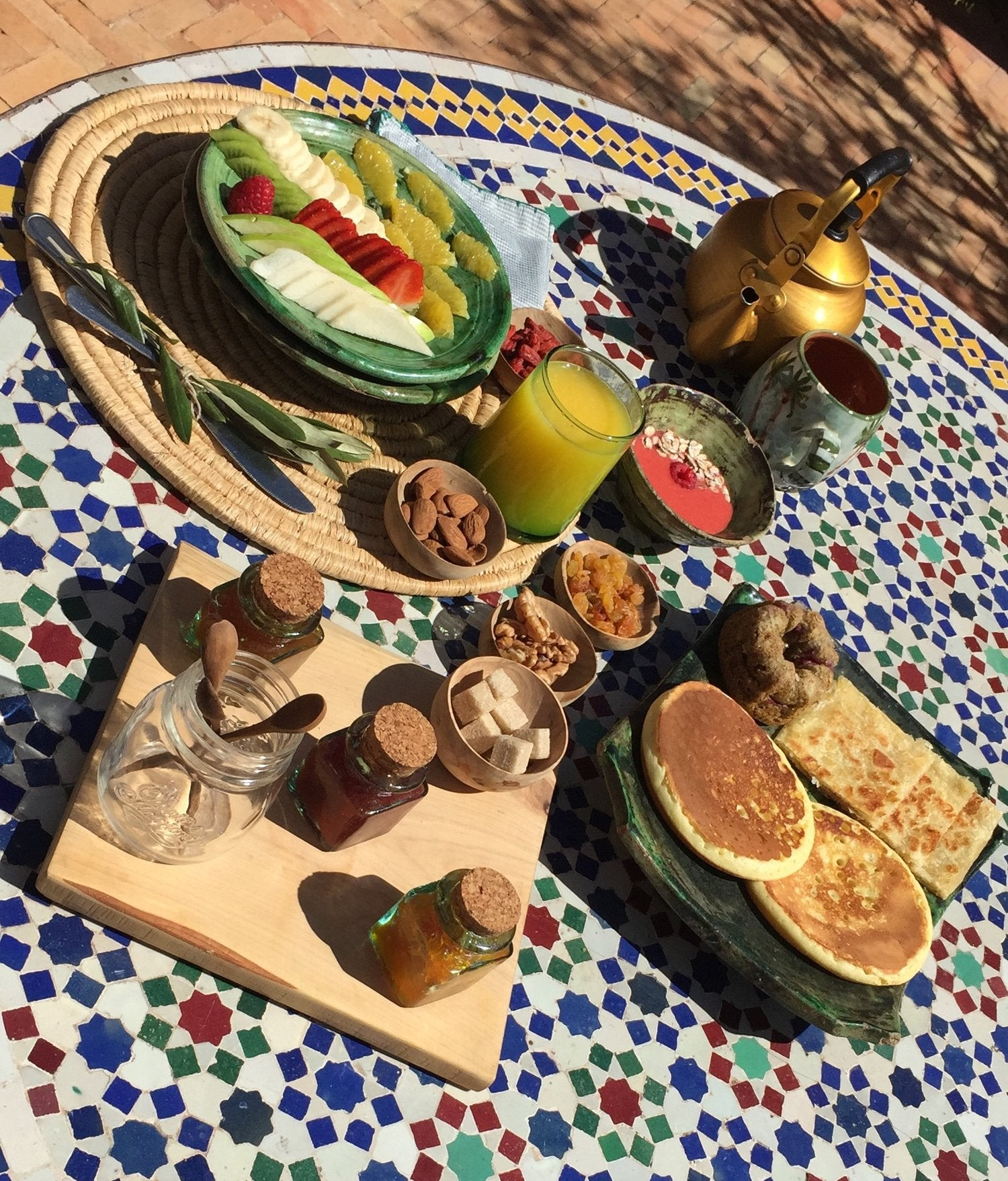 Izaskun Zabala fine costume jewelry blog about inspiration travel trip to Riad Jardin Secret in Marrakech Morocco