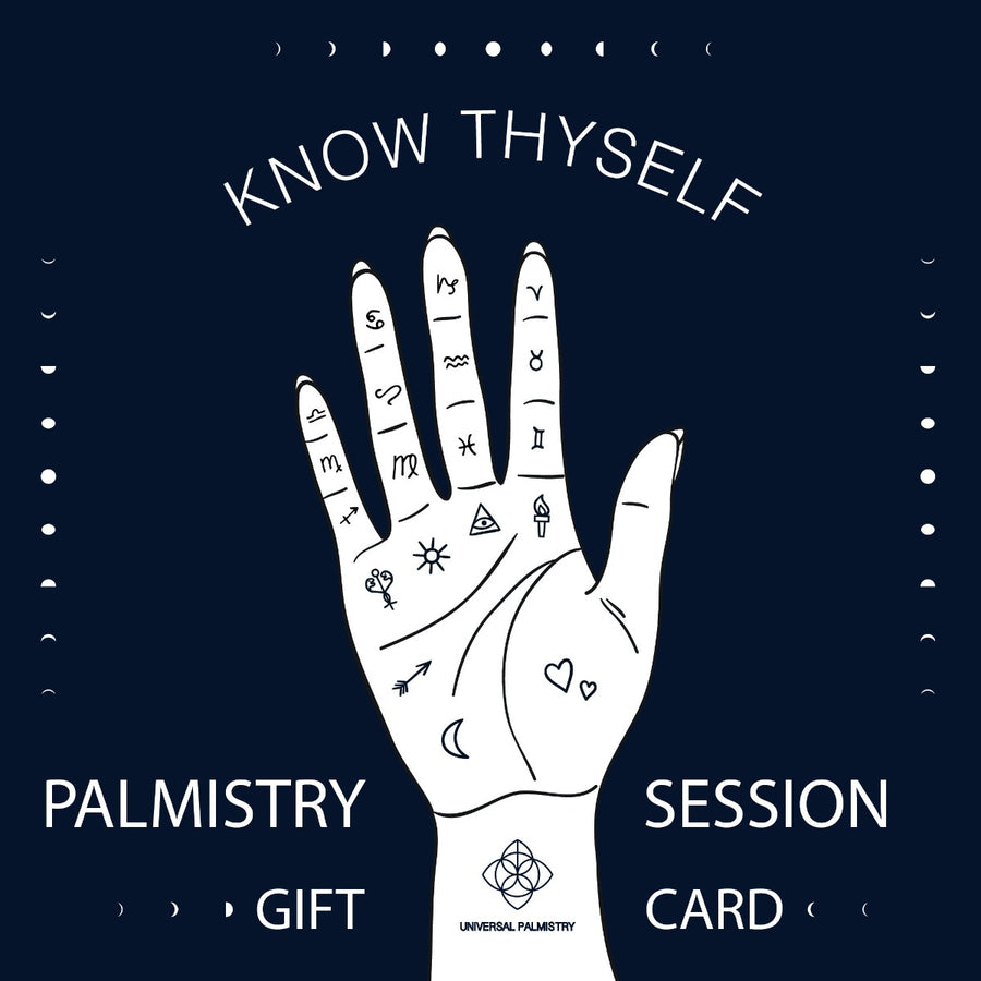 Izaskun Zabala palm reading session gift card palmistry