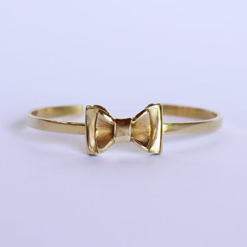 Izaskun Zabala jewelry adjustable bow cuff bracelet