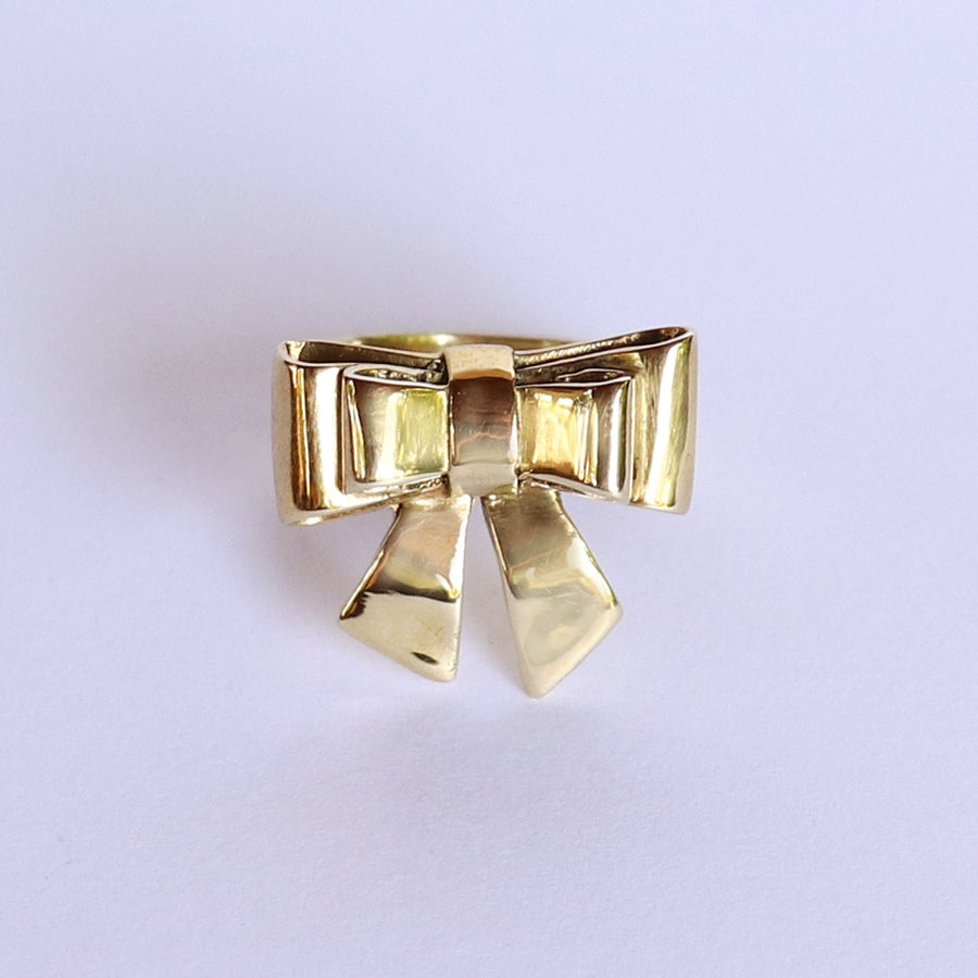 Izaskun Zabala jewelry bow ring