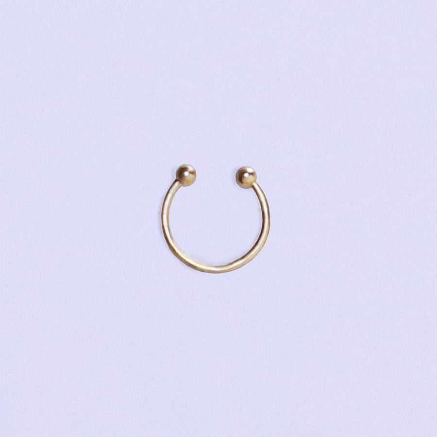 Izaskun Zabala jewelry single wire ear cuff