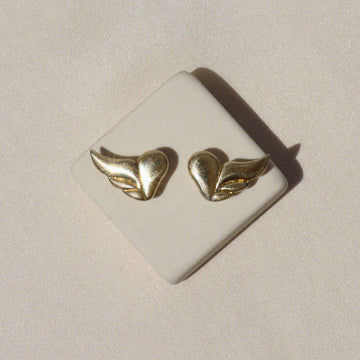 Izaskun Zabala jewelry wing stud earrings