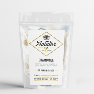 Aviator Coffee - Chamomile Tea Pyramid Bags
