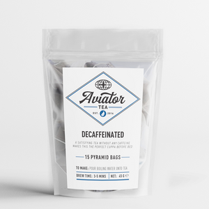Aviator Coffee - Decaffeinated Pyramid Tea Bags