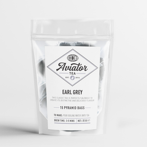 Aviator Coffee - Earl Grey Tea Pyramid Bags