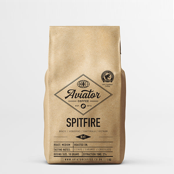 Aviator Coffee - Spitfire Coffee Beans - 1KG