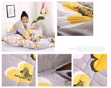 Load image into Gallery viewer, Winter Lazy Quilt with Sleeves  Home Bedding 2019