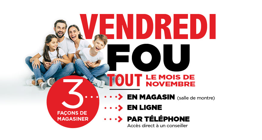 Vendredi Fou Black Friday | SONXPLUS.com