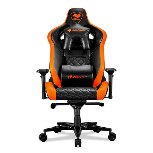 Cougar Chaise de jeu Armor TITAN - Noir, orange