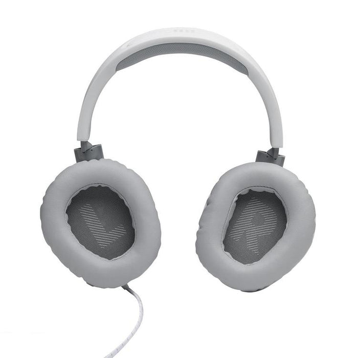 JBL Quantum 100 | Gaming headset with removable microphone - White | SONXPLUS